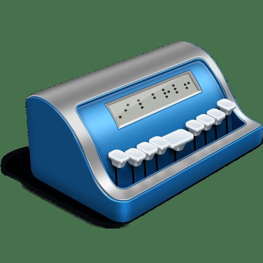 Braille Writer Word Processor Mac OS X