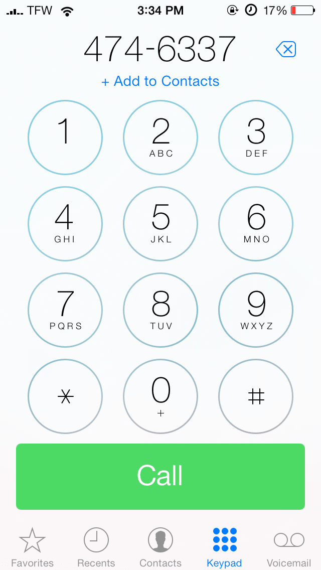 how to get your phone number on iphone