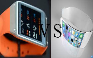 iWatch vs. Galaxy Gear