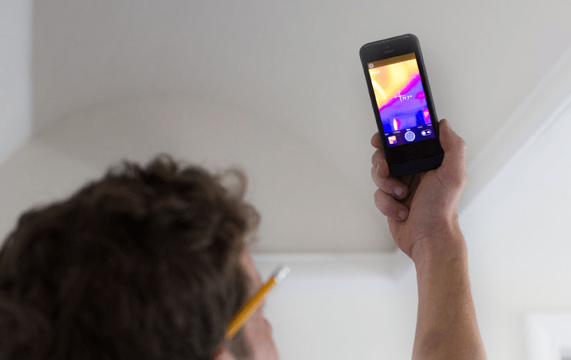 infrared iphone case see through walls