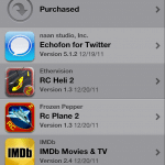 View Apps that You Have Purchased