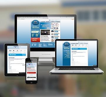 Self Storage Company Responsive Website