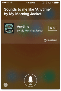 Siri with Shazam Integration